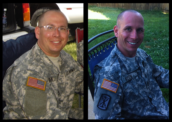 The transformation of Sgt. Steve Rosen